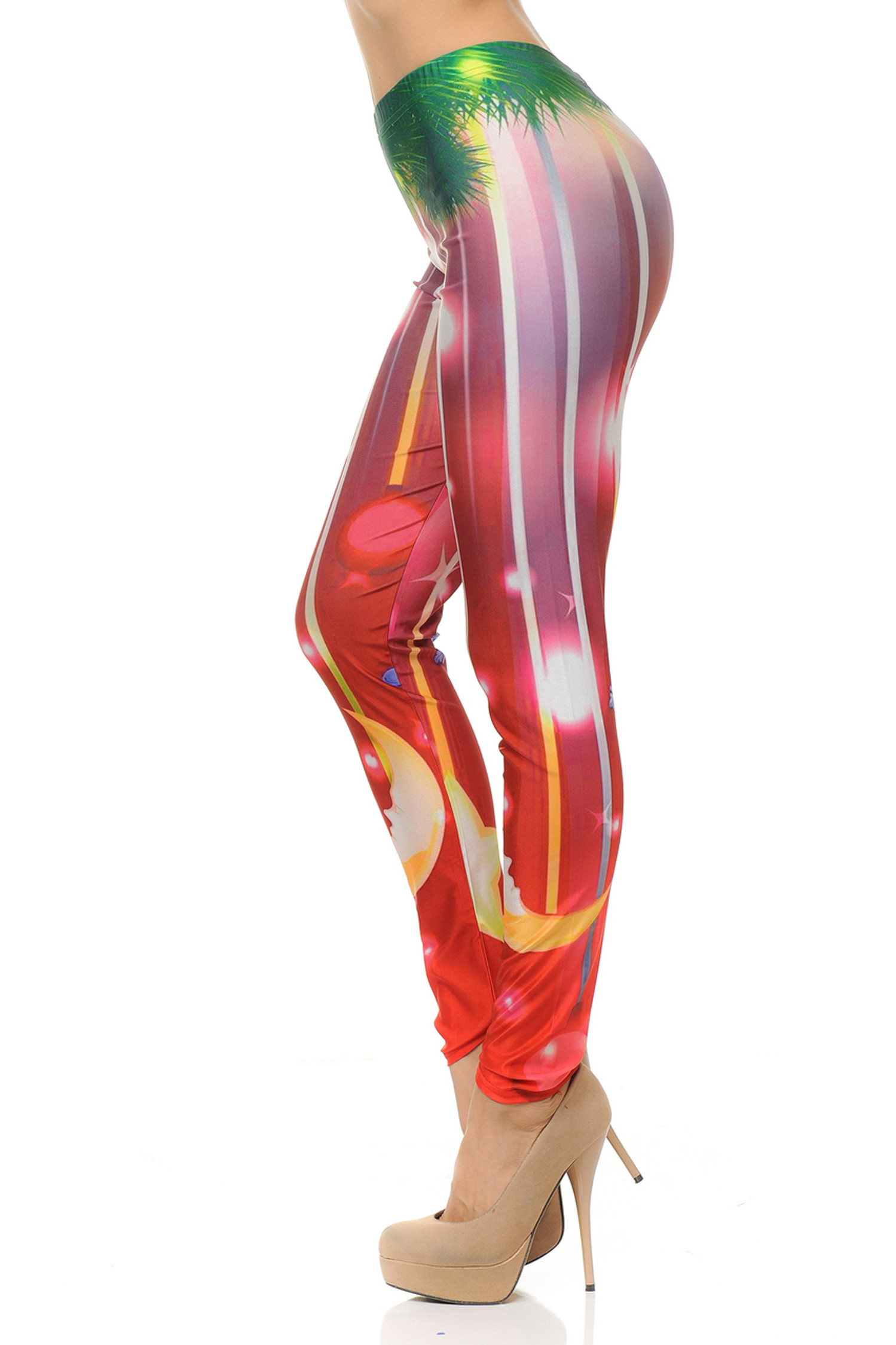Merry and Bright Holiday Leggings