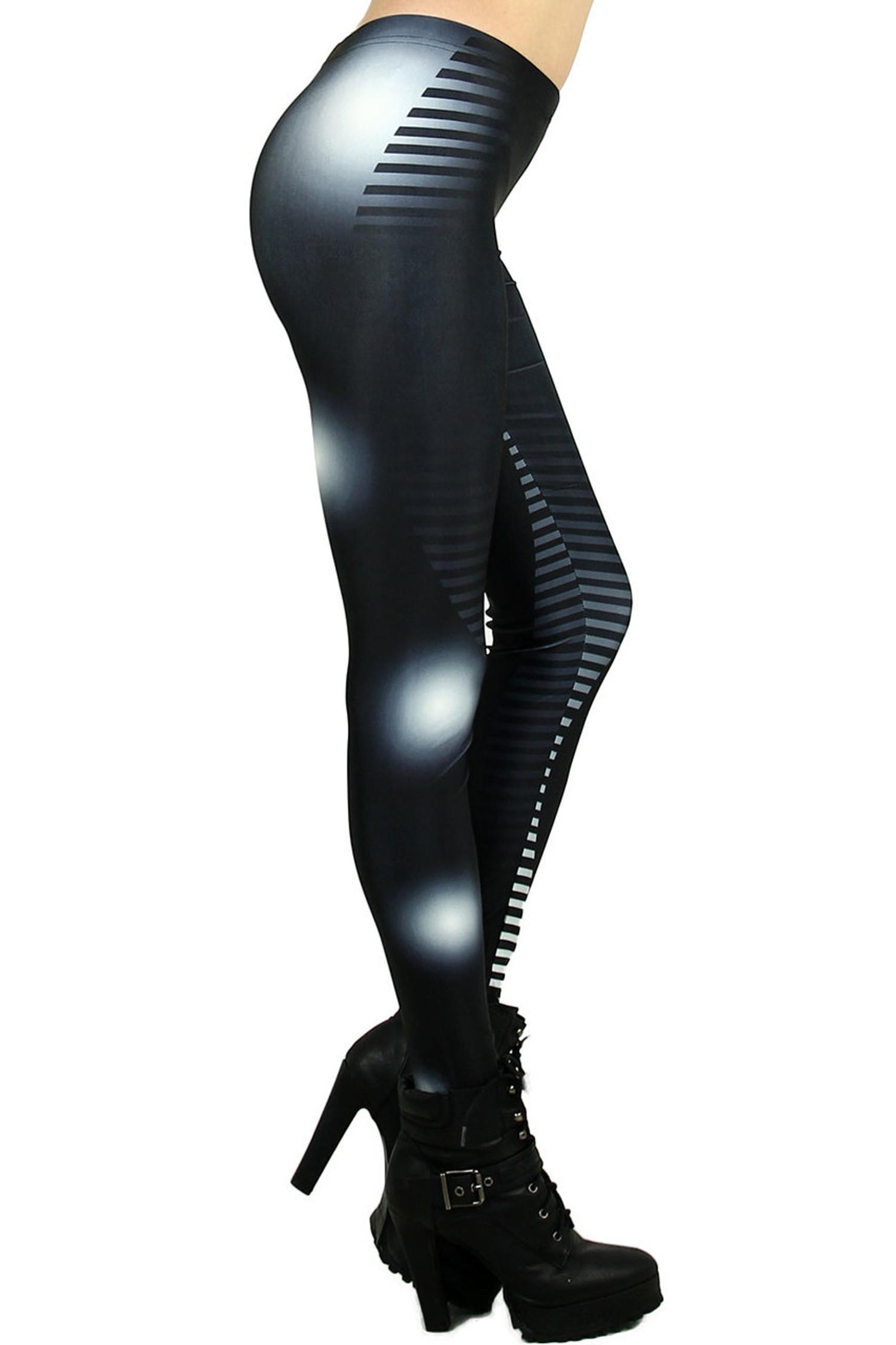 Stripe and Light Leggings