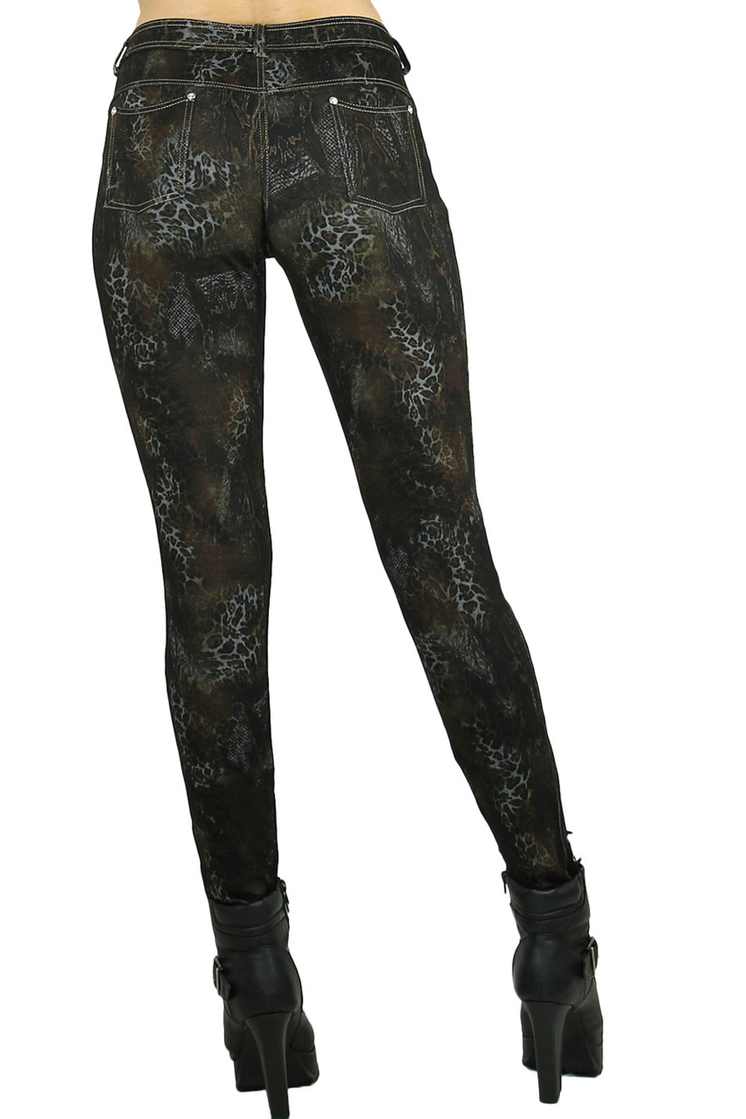 Black Empress Cotton Leggings