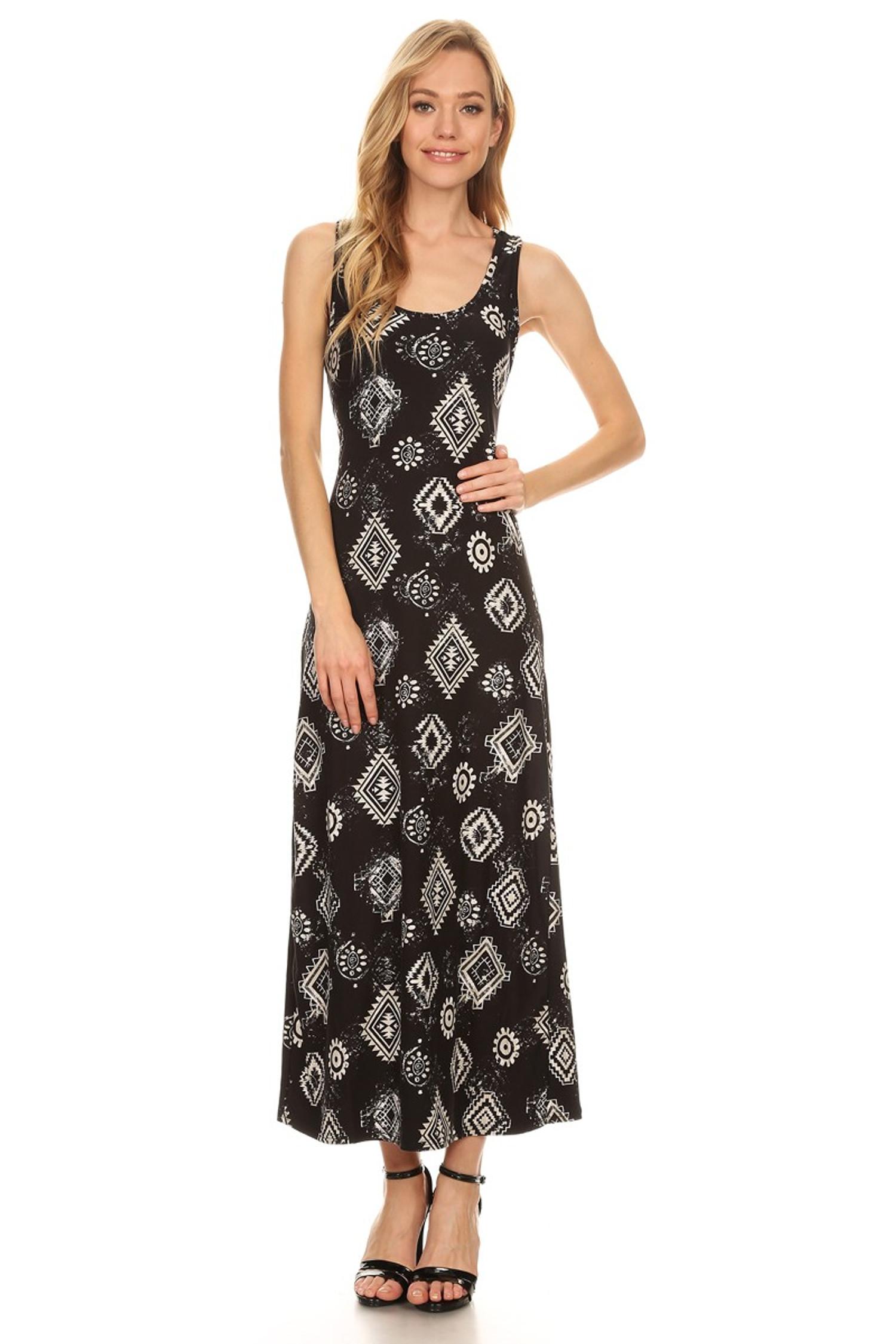 Regalia Tribal Maxi Dress
