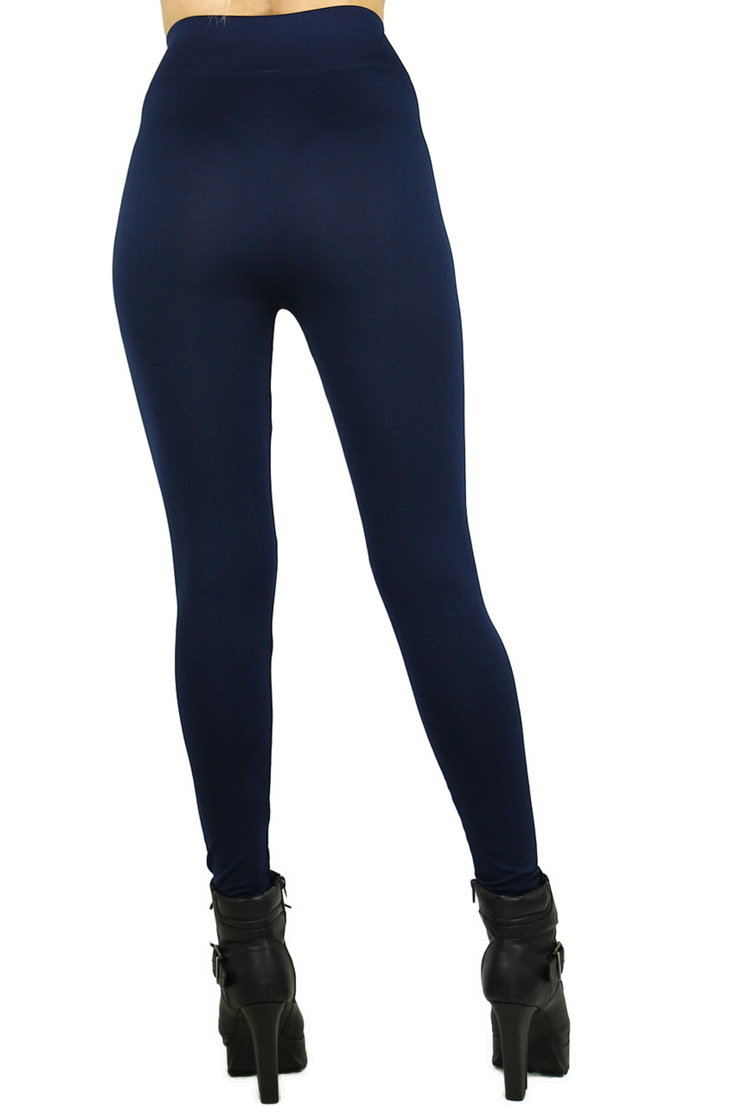 Basic Spandex Full Length Plus Size Leggings