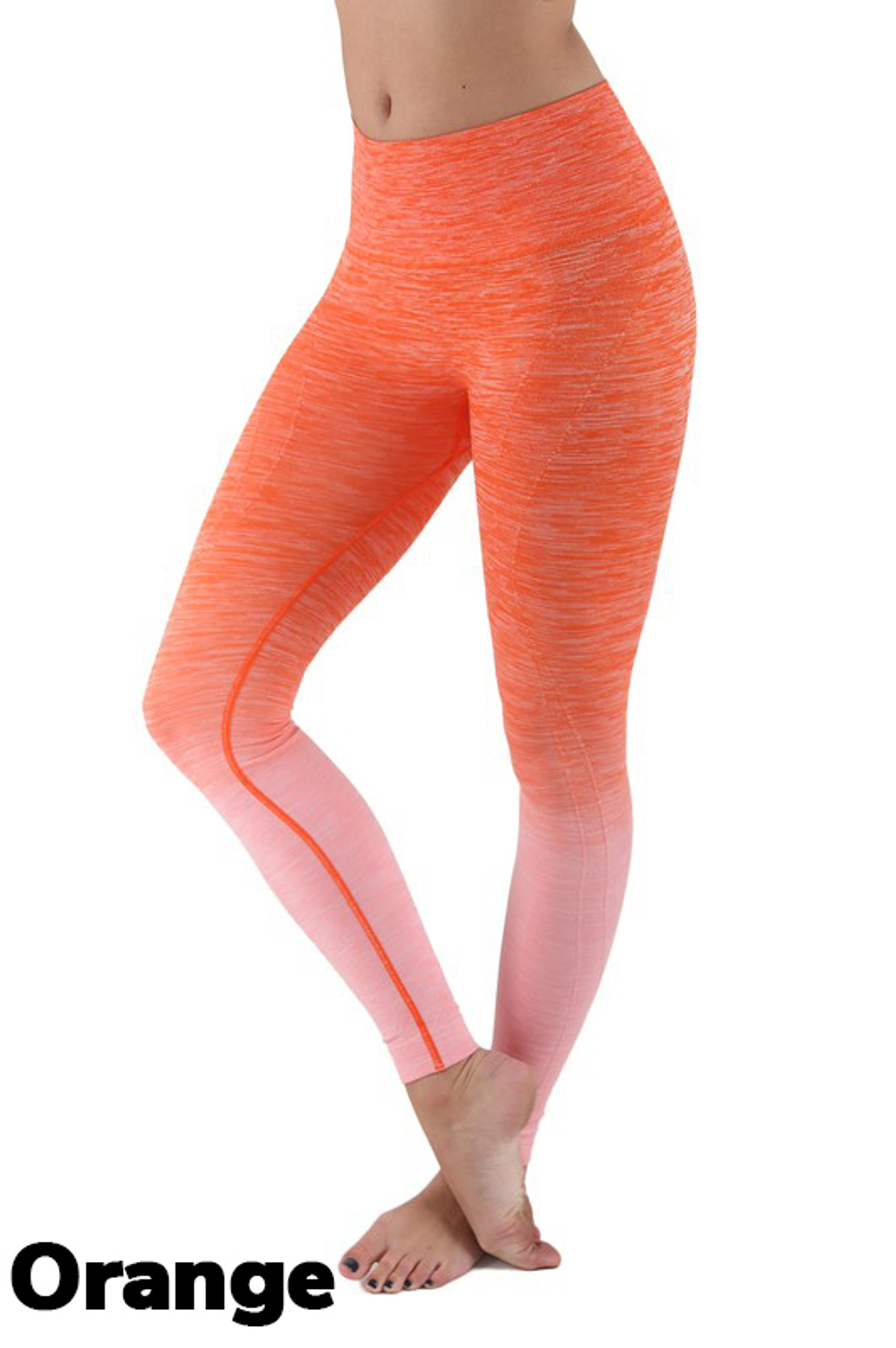 Wholesale Ombre Fusion Workout Plus Size Leggings