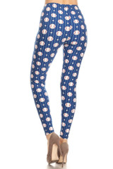 Baseball Plus Size Leggings - 3X-5X