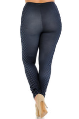 Creamy Soft Contour Crisscross Plus Size Leggings - Signature Collection