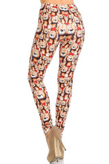 Creamy Soft Teddy Bear Love Leggings - Signature Collection
