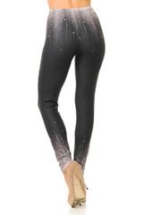Creamy Soft Sparkle Contour Leggings