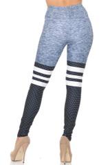 Creamy Soft Split Sport Extra Small Leggings - USA Fashion™
