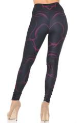 Creamy Soft Fuchsia Mist Extra Small Leggings - USA Fashion™