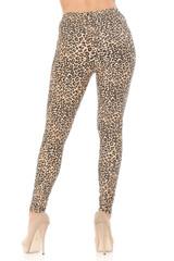 Brushed  Savage Leopard Plus Size Leggings