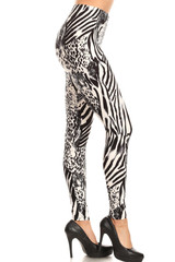 Brushed  Wild Safari Leggings
