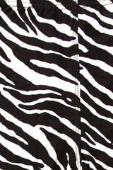 Brushed  Zebra Print Kids Leggings