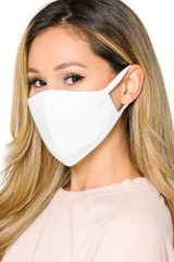 FEMALE COTTON FACE MASK- Premium 2-PLY Cotton with PM2.5 Filter Pocket - Made in USA