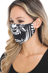 Evil Phantom Graphic Face Mask