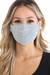Dainty Sequin Fashion Face Masks