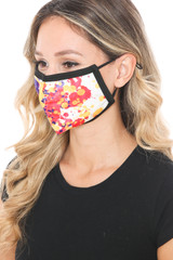 Paint Splat Graphic Print Face Mask