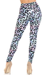 Creamy Soft Chromatic Leopard Leggings - By USA Fashion™