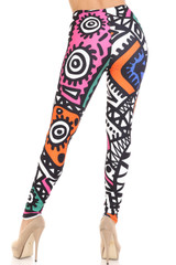 Creamy Soft Color Tribe Leggings - By USA Fashion™