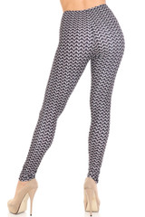 Creamy Soft Chainmail Plus Size Leggings - USA Fashion™