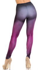 Creamy Soft Fuchsia Silhouette Leggings - USA Fashion™