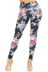 Creamy Soft Delightful Rose Leggings - USA Fashion™
