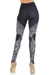 Creamy Soft Bandana Stars Extra Plus Size Leggings - 3X-5X - USA Fashion™