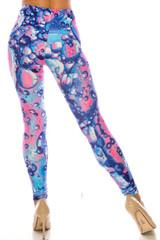 Creamy Soft Brilliant Bubbles Extra Plus Size Leggings - 3X-5X - USA Fashion™