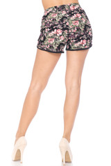 Dainty Summer Floral Dolphin Shorts
