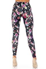 Creamy Soft Floral Dreamcatcher Kids Leggings - USA Fashion™