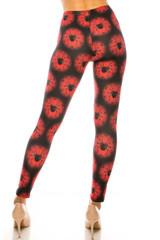 Creamy Soft Black Widow Spider Web Kids Leggings - USA Fashion™