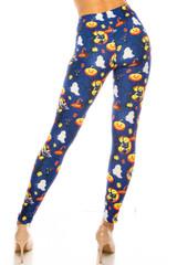Creamy Soft Halloween Critters Extra Plus Size Leggings - 3X-5X - USA Fashion™