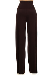 Brown Wide Leg Pants