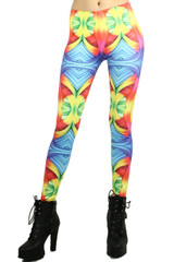 Rainbow Trance Leggings