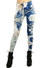 Twisted Vine Floral Leggings