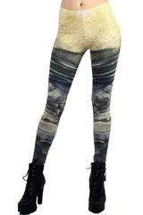 Mars from Space Leggings