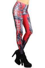 Red Chain Link Armor Leggings
