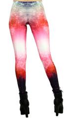 Rose Galaxy Leggings