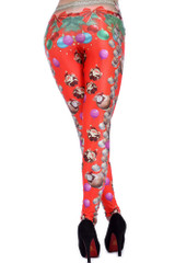 Party Santa Claus Leggings