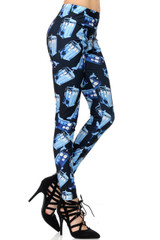 British Police Call Box Leggings