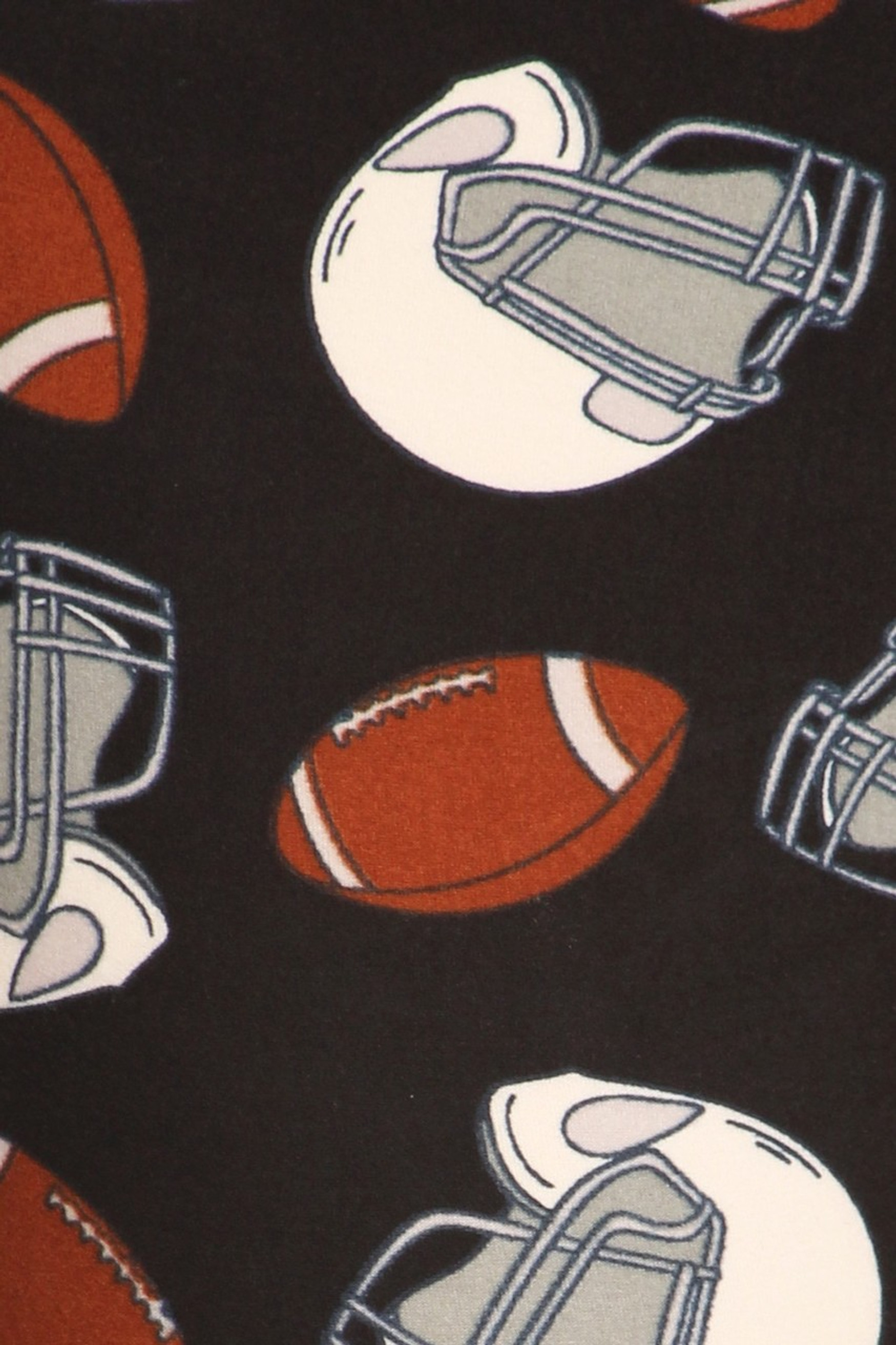 Brushed National Football Capris