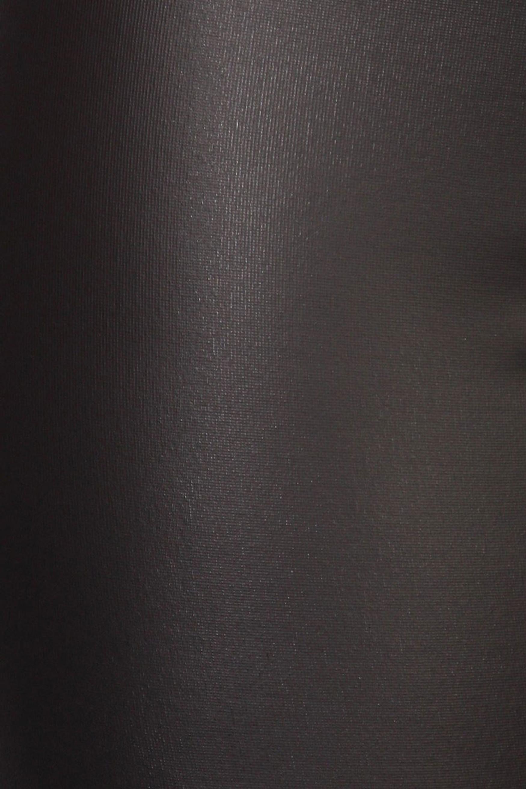 Matte Faux Leather Plus Size Leggings
