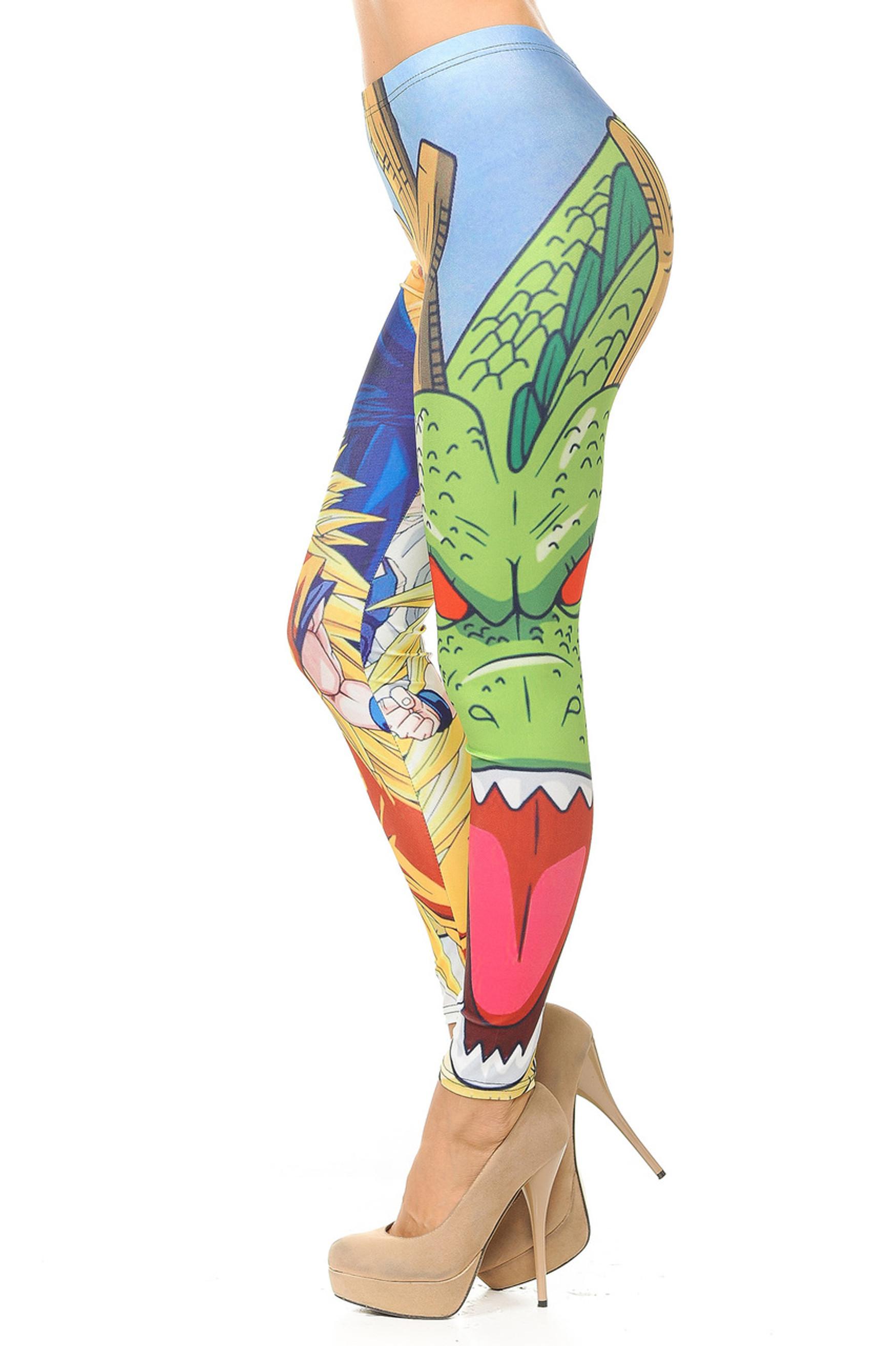 Dragon Ball Z Leggings - Part 2