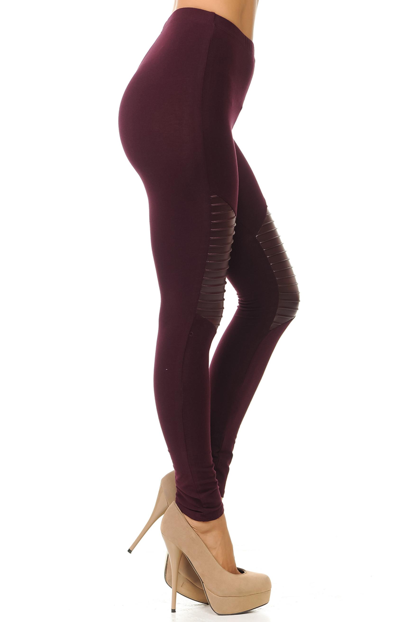 Thigh Detailed Cruiser Leggings