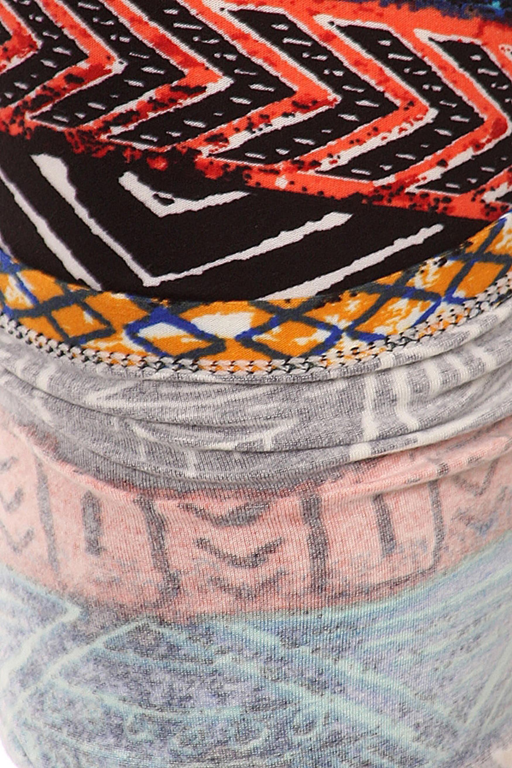 Brushed Tulum Tribal Plus Size Leggings