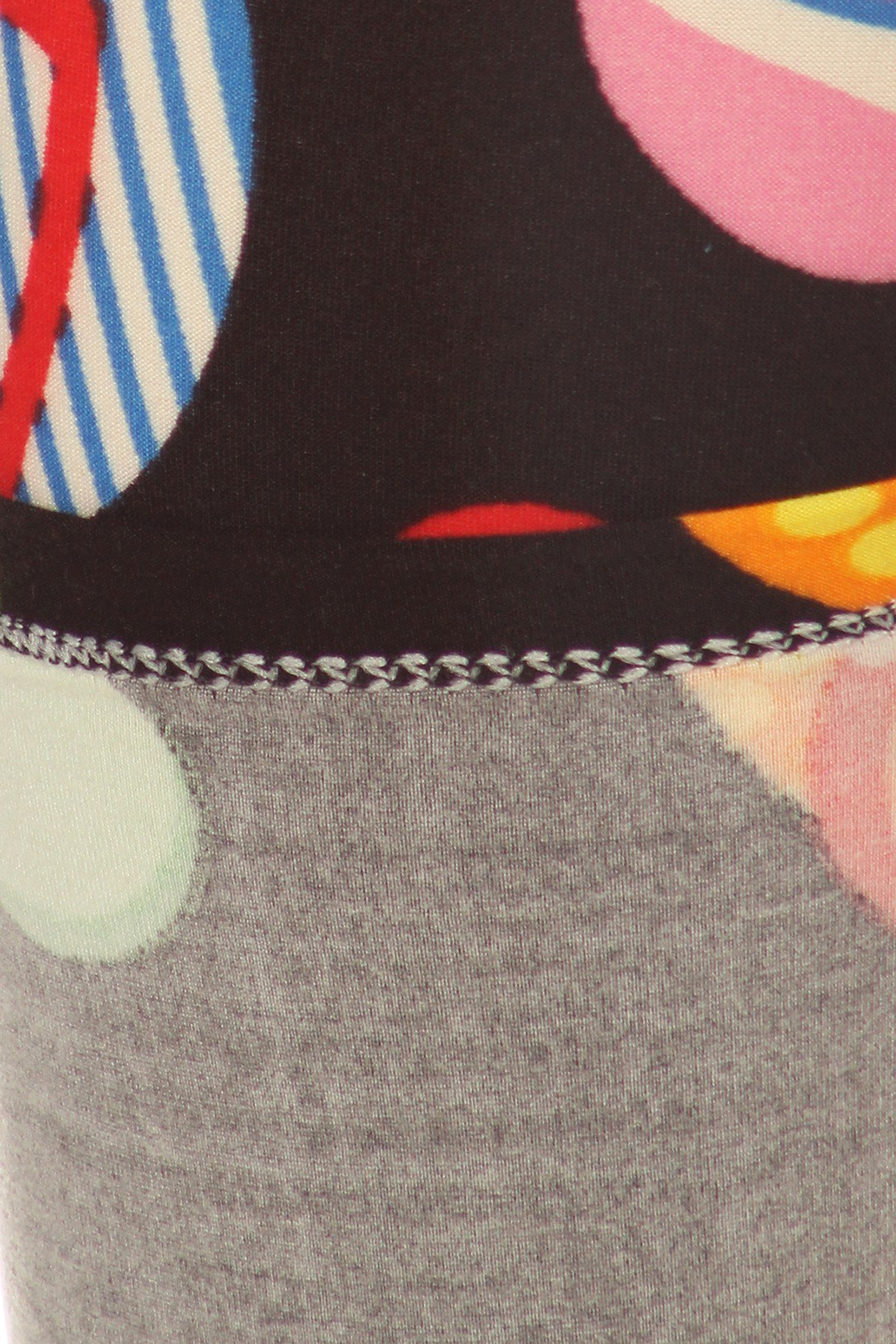 Soft Brushed Jumbo Beach Sandals Leggings - XSmall