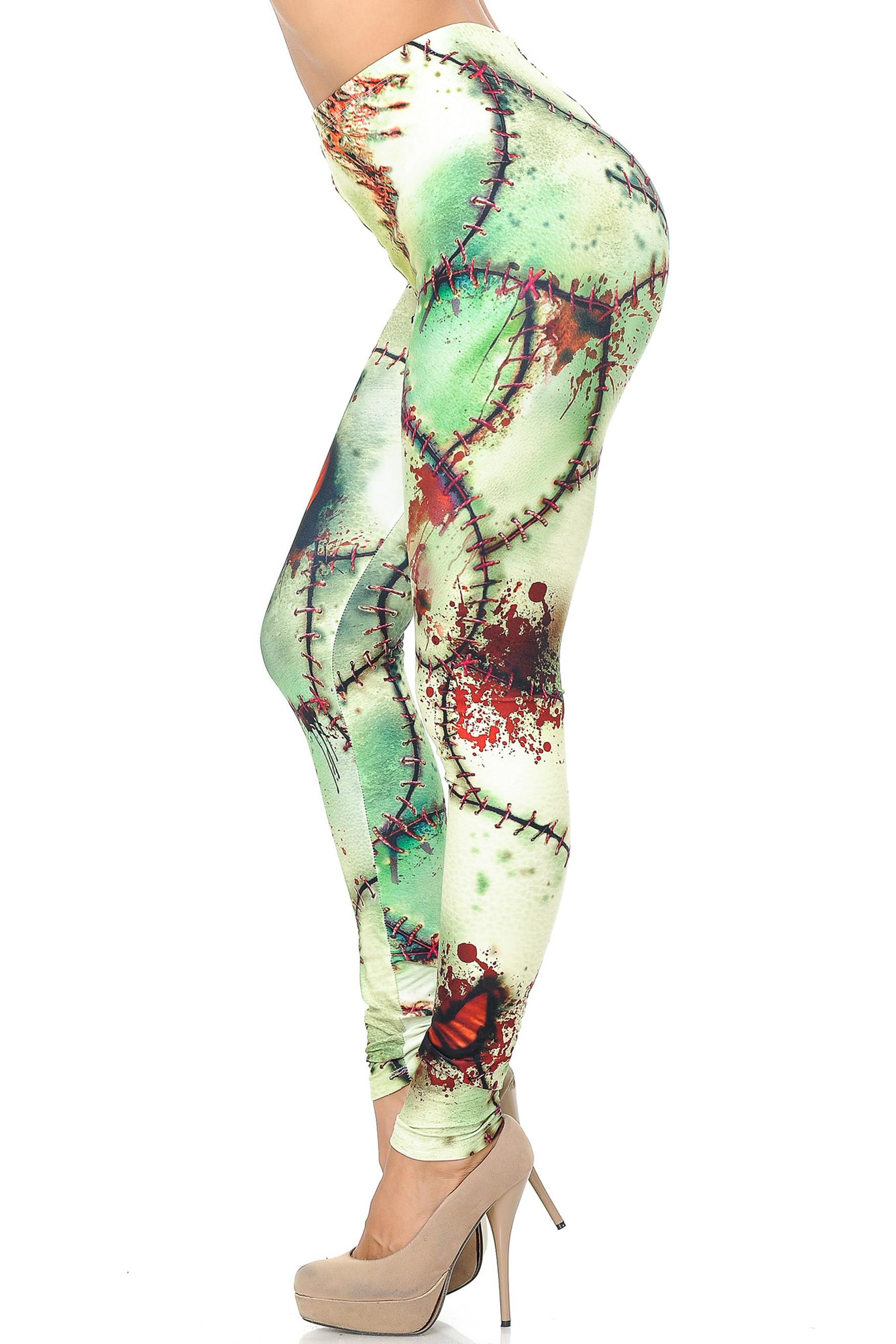 Creamy Soft Zombie Leggings - USA Fashion™