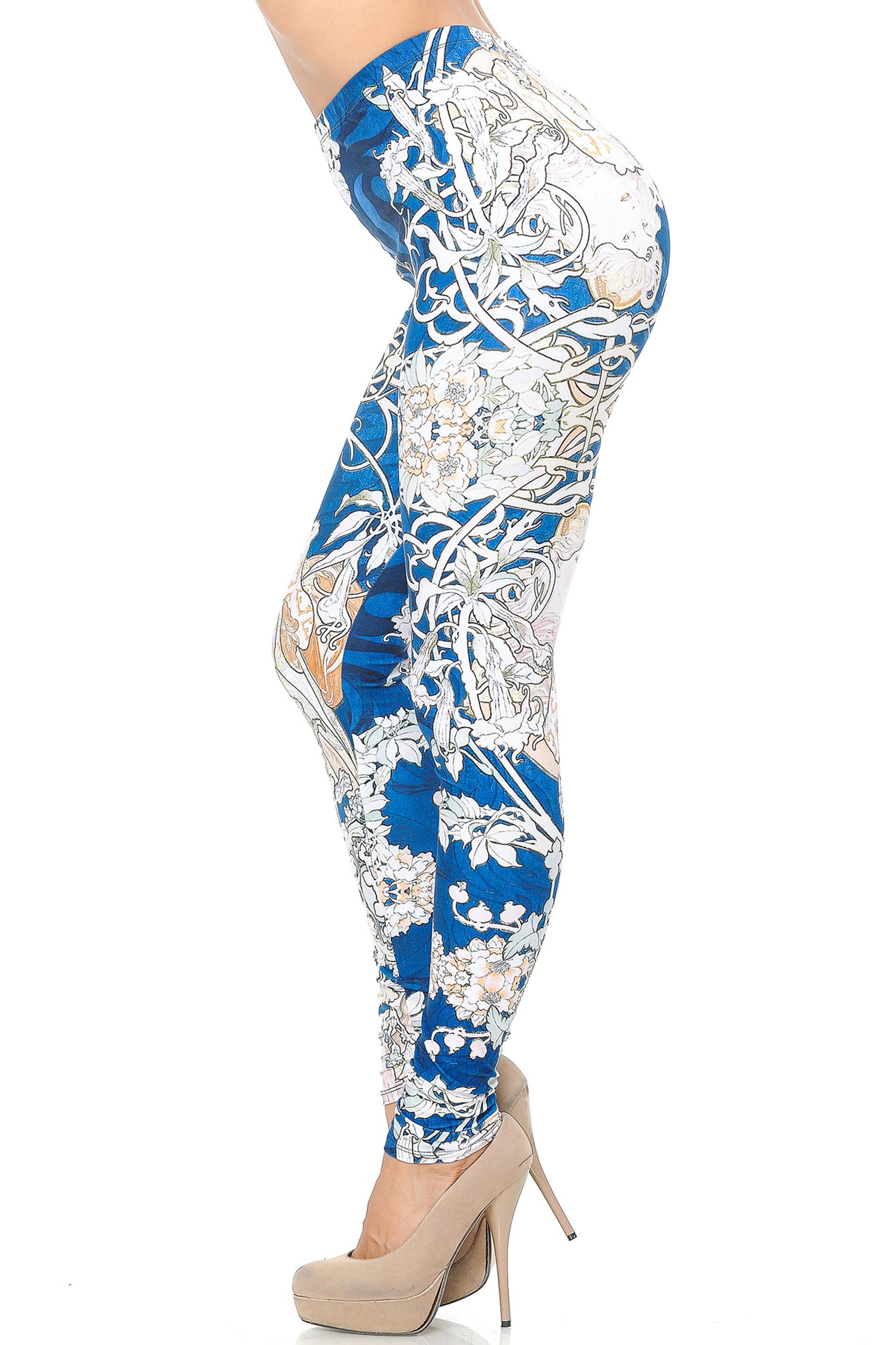 Creamy Soft Twisted Eden Vine Leggings - USA Fashion™