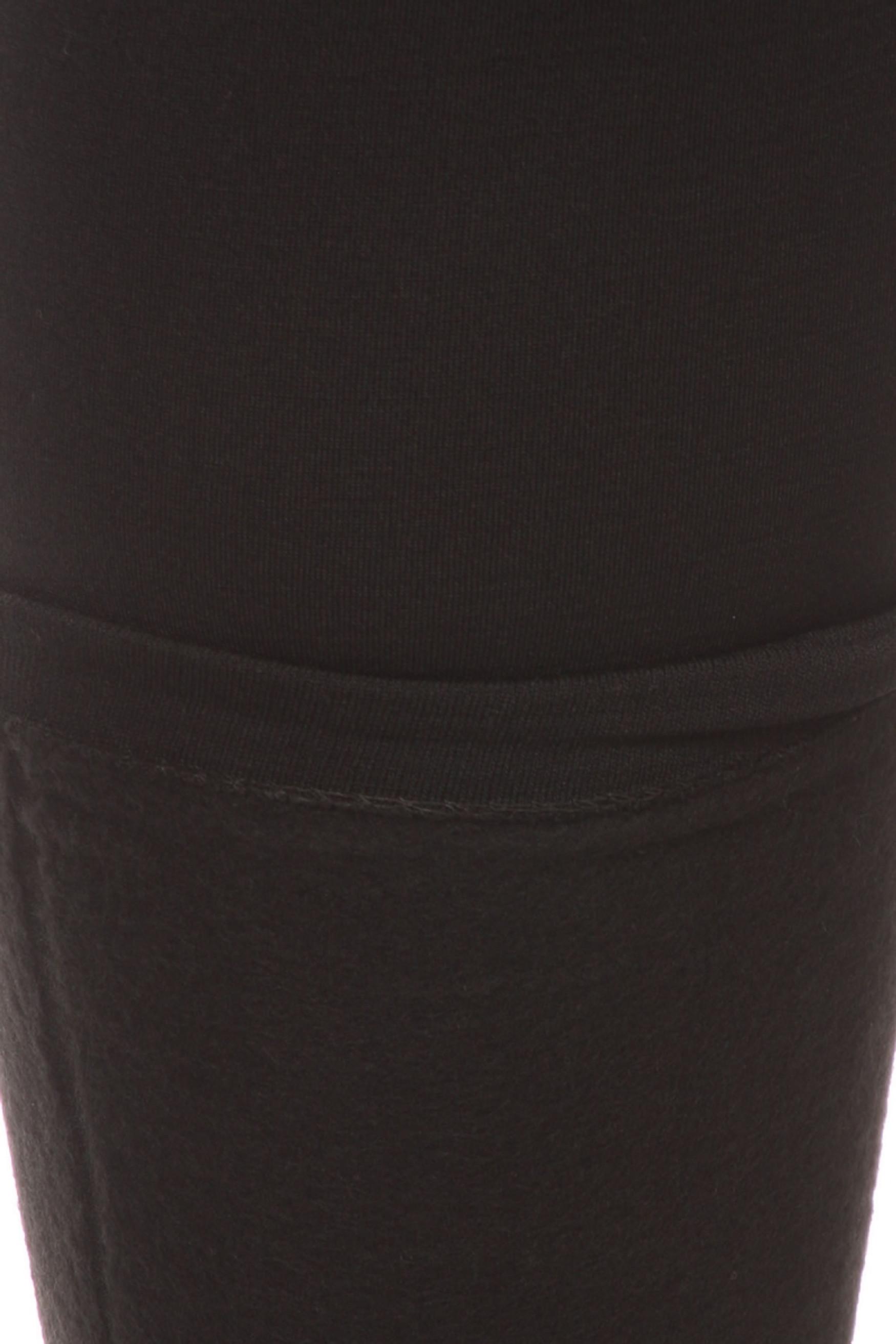 Close-up fabric image of  Premium Women's Fleece Lined Plus Size Leggings