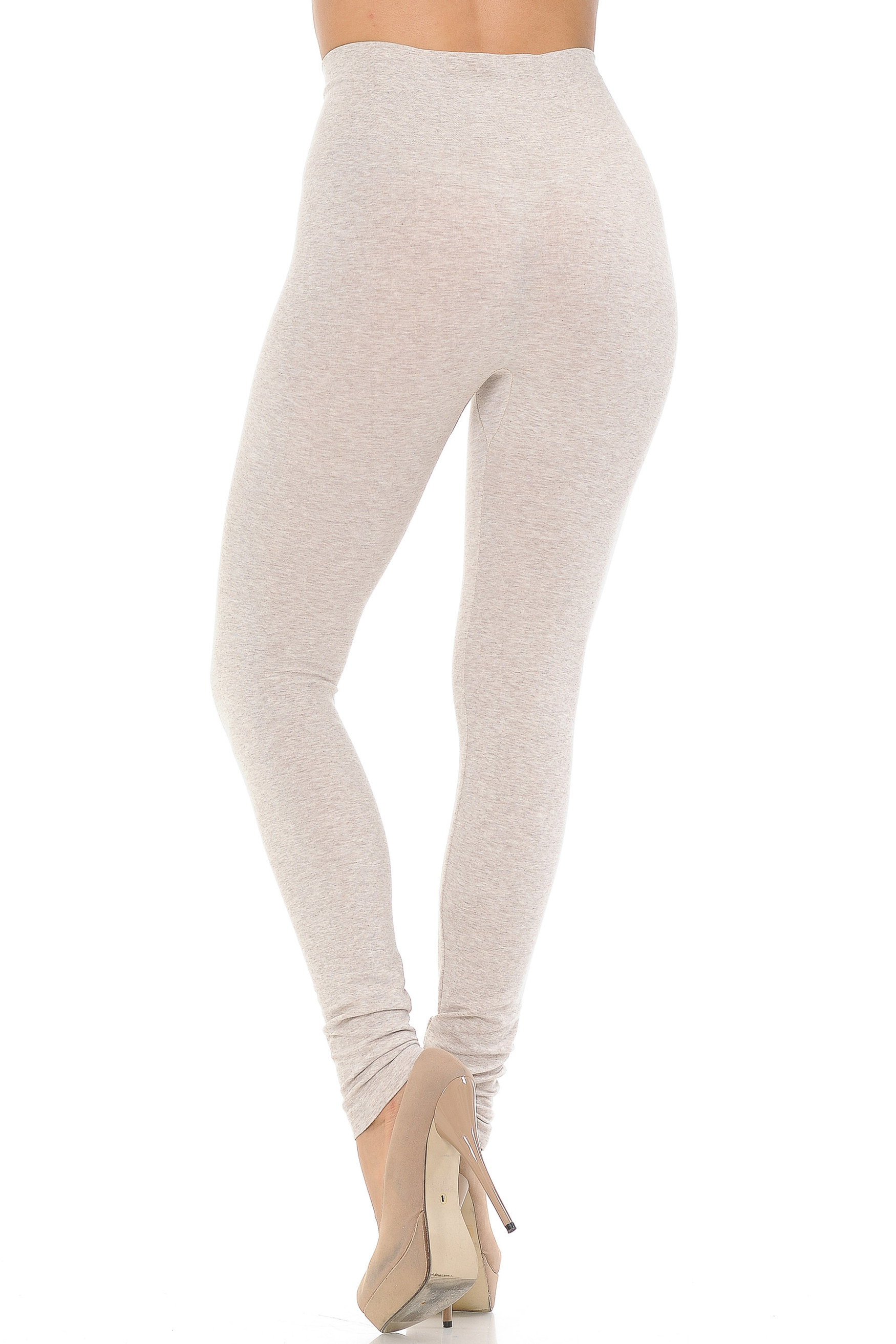 High Waisted Comfy Heathered Leggings