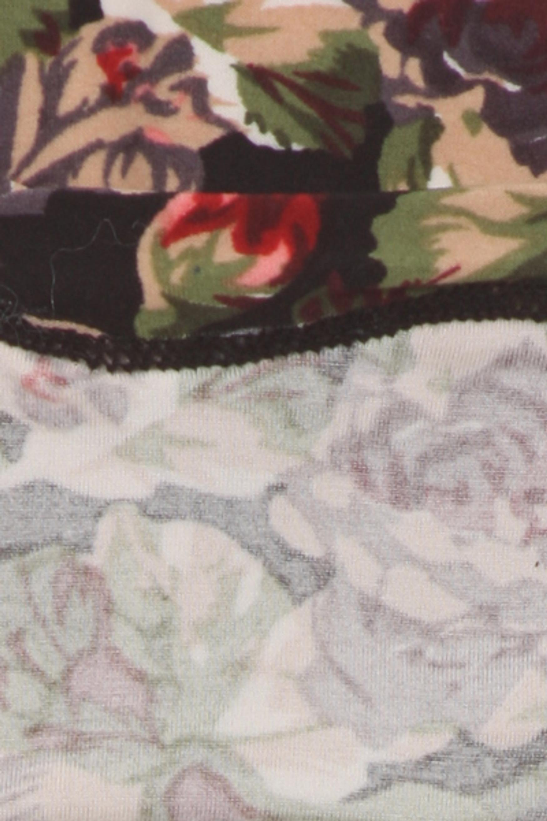 Brushed Vintage Floral Kids Leggings