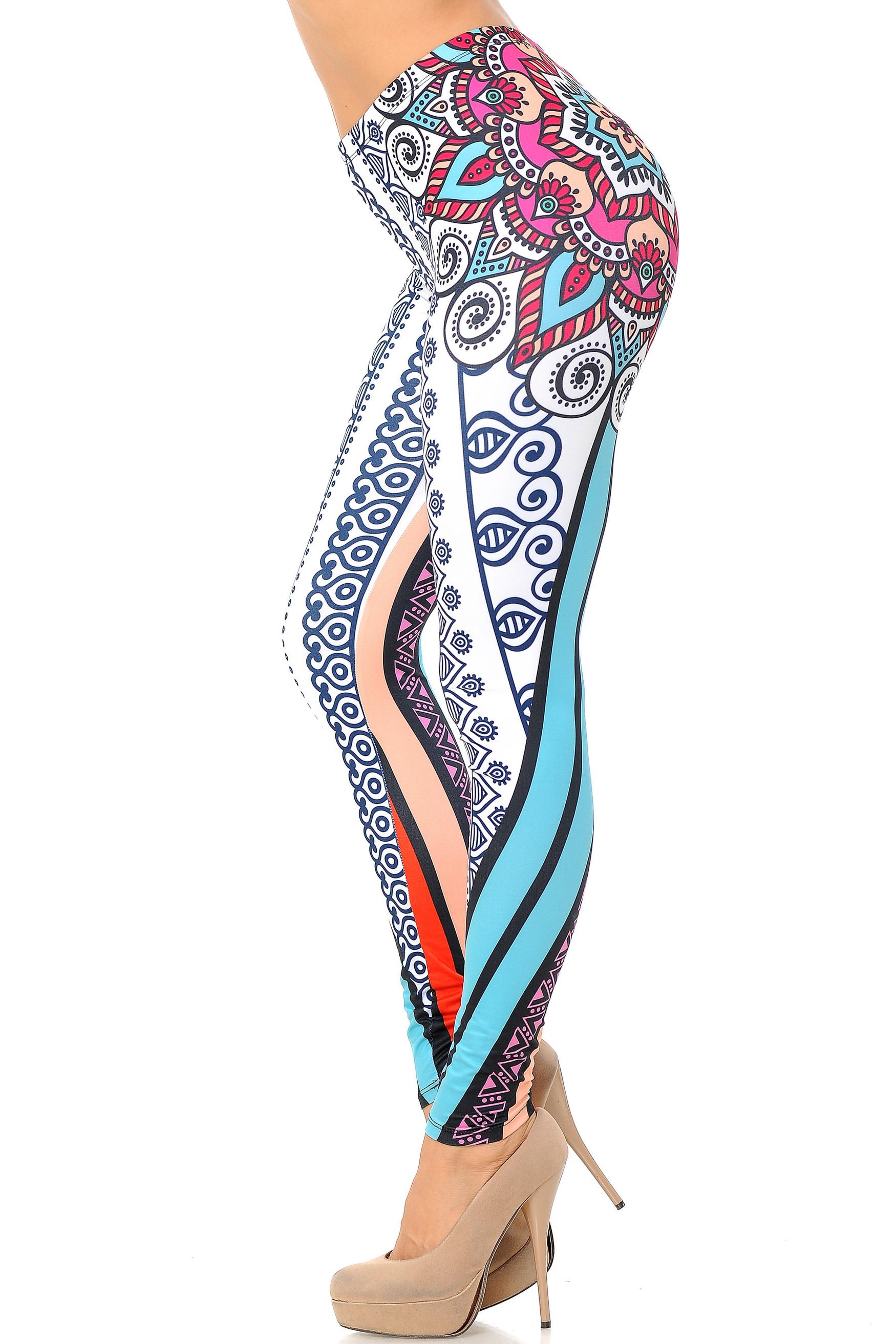 Double Brushed Sexy Mandala Leggings